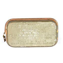 Lékárnièka US M24 original na prùstøel v plechu