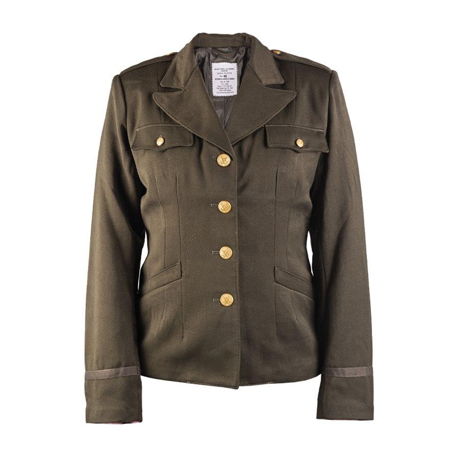 Kabát dámský US repro OLIV