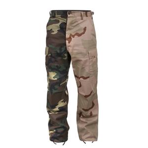 Kalhoty dvoubarevné BDU WOODLAND/3-COL DESERT