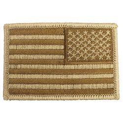 Nášivka US vlajka reverzní 5 x 7,5 cm