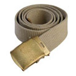 Opasek US kalhotový zlatá spona KHAKI/OLIV orig.použitý