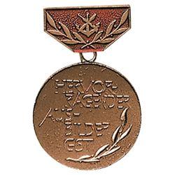 Medaile vyznamenání GST AUSBILDE BRONZOVÁ
