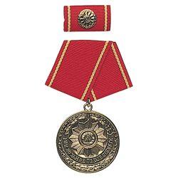 Medaile vyznamenání MDI  F.TREUE DIENSTE  20let ZLATÁ