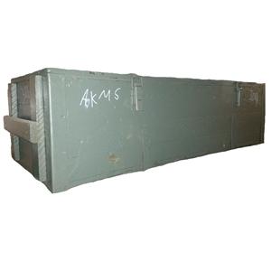 Bedna døevìná velká šedá AÈR 125x50x35 cm