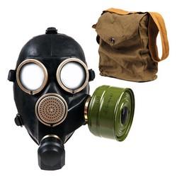 Maska GP-7 plynová ruská ÈERNÁ obal filtr