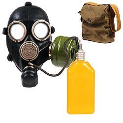 Maska GP-7 plynová ruská ÈERNÁ obal filtr láhev
