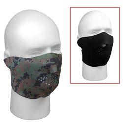 Maska neoprenová oboustranná ÈERNÁ/DIGITAL WOODLAND