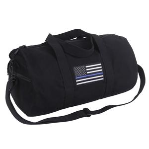 Taška s vlajkou USA plátìná sportovní ÈERNÁ