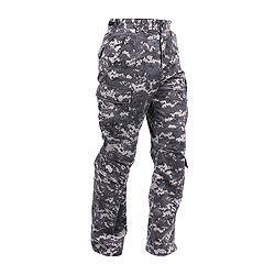 Kalhoty VINTAGE PARATROOPER DIGITAL URBAN