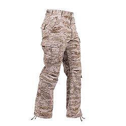 Kalhoty VINTAGE PARATROOPER DIGITAL DESERT