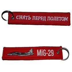 Klíèenka MIG-29/RBF ÈERVENÁ - zvìtšit obrázek