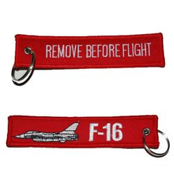 Klíèenka REMOVE BEFORE FLIGHT / F-16 - zvìtšit obrázek