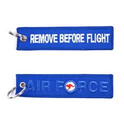 Klíèenka REMOVE BEFORE FLIGHT / AIR FORCE