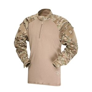 Košile taktická COMBAT 1/4 zip rip-stop ALL TERRAIN TIGER