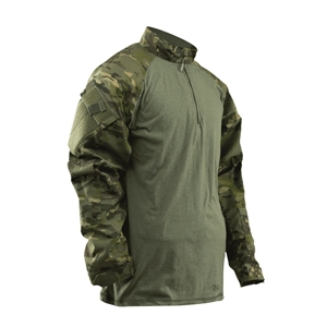 Košile taktická COMBAT TRU 1/4 ZIP MULTICAM® TROPIC™