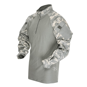 Košile taktická COMBAT TRU 1/4 ZIP ACU , AT - DIGITAL
