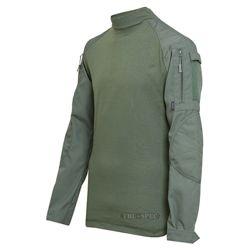 Košile taktická COMBAT rip-stop ZELENÁ