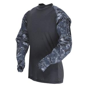 Košile taktická COMBAT rip-stop MIDNIGHT DIGITAL