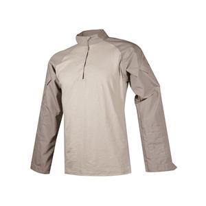 Košile taktická COMBAT TRU 1/4 ZIP KHAKI