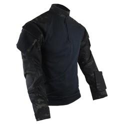 Košile taktická COMBAT TRU XTREME rip-stop MULTICAM BLACK