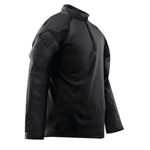 Košile taktická 1/4 zip COLD WEATHER ÈERNÁ
