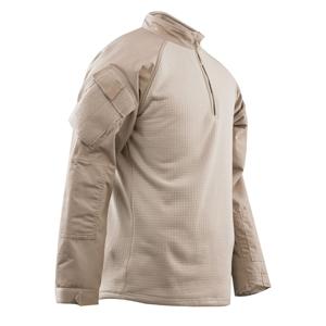 Košile taktická 1/4 zip COLD WEATHER KHAKI