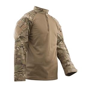 Košile taktická 1/4 zip COLD WEATHER MULTICAM