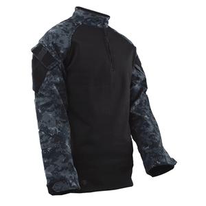 o/s Košile taktická 1/4 zip COLD WEATHER MIDNIGHT DIGITAL