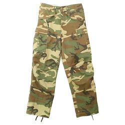 Kalhoty VINTAGE US M65 FIELD WOODLAND
