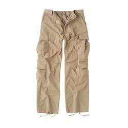 Kalhoty VINTAGE PARATROOPER KHAKI