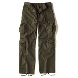 Kalhoty VINTAGE PARATROOPER ZELENÉ