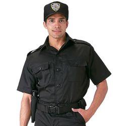 Košile služební krátký rukáv ÈERNÁ