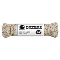 Šòùra PARACORD polyester 550LB 15 m 4mm DESERT CAMO