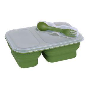 Box na jídlo LUNCHBOX skládací ZELENÝ