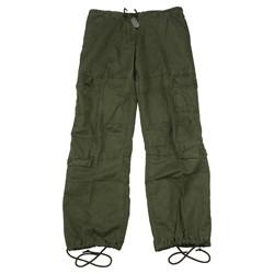 Kalhoty dámské VINTAGE ZELENÉ