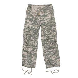 Kalhoty dámské VINTAGE ACU DIGITAL