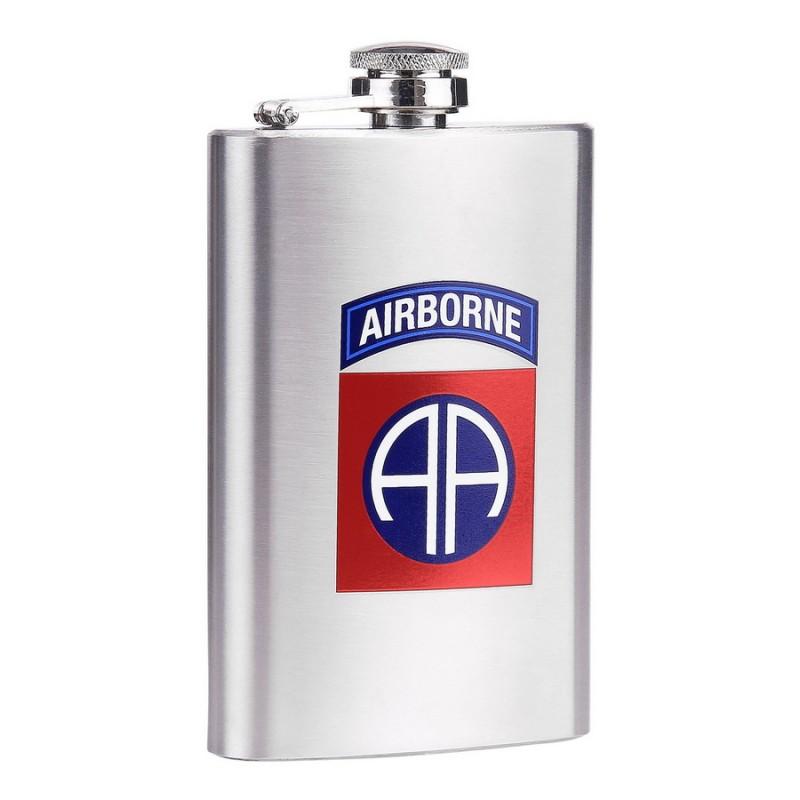 Placatka 82nd AIRBORNE 148 ml NEREZ OCEL