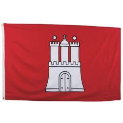 Vlajka HAMBURG 90 x 150 cm