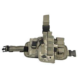 Pouzdro pistolové stehenní se zásobníky pravé ACU DIGITAL
