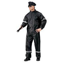 Komplet nepromokavý POLICE ÈERNÝ