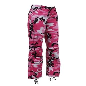 Kalhoty dámské PARATROOPER PINK CAMO