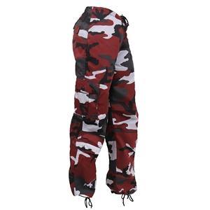 Kalhoty dámské PARATROOPER RED CAMO