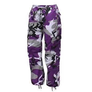 Kalhoty dámské PARATROOPER VIOLET CAMO