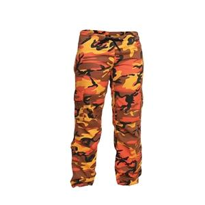 Kalhoty dámské PARATROOPER ORANGE CAMO