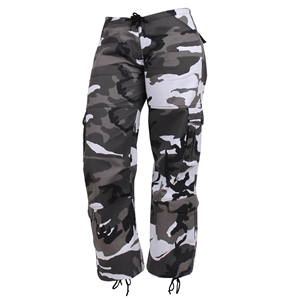 Kalhoty dámské PARATROOPER CITY METRO CAMO