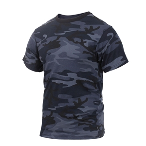 Triko Midnight BLUE CAMO