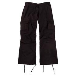Kalhoty dámské VINTAGE ÈERNÉ