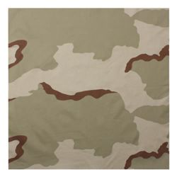 Šátek 55 x 55 cm 3-COL DESERT CAMO