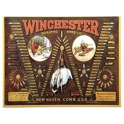 Cedule plechová Winchester - náboje
