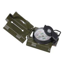 Kompas US kovové tìlo a LED osvìtlení ZELENÝ
